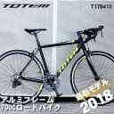 ロードバイク 自転車 アルミ 軽量 700C TOTEM シ...