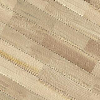 無垢フローリング床材「ホワイトオーク」ユニ90mm幅無塗装 ラスティックグレード
