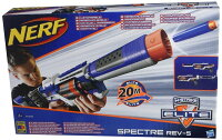 ナーフ Nerf N-Strike Elite Spectre Rev-5 Stealth Blaster 輸入品