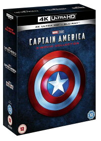 キャプテン・アメリカ 3ムービー・コレクション 4K ULTRA HD + Blu-ray 輸入版