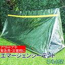 エマージェンシー テント エマージェンシー シェルター ひも付き 雨避け 緊急用 防災 災害時に 寝袋 アウトドア 登山 ハイキング 送料無料