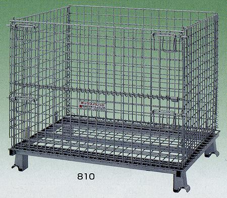 ボックスパレット 間口1200×奥行き1000×高さ895mm 均等耐荷重:2000kg【1012】:エコノミーオフィス-オフィス家具