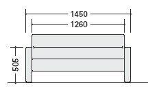 応接セットZRE134型ソファー【ZRE134ML】