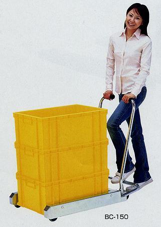 ビックカート 全長1020×全幅684×全高930mm 均等耐荷重:150kg【BC-150】:エコノミーオフィス-オフィス家具