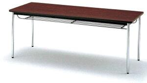 会議テーブルTDS・TDシリーズTDS棚無角脚幅900×奥行き900×高さ700mm【TDS-0990K】