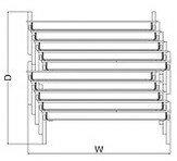 会議ミーティング用テーブルKT-700シリーズ薄型キャスタータイプ天板フラップ式パネル付き直線幅1500×奥行き450mm【KT-PMS702【KT-PMS702-CNN】