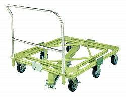 自在移動回転台車 重量型 取手 センターベース付 幅1010×奥行き1010×高さ952mm 均等耐荷重:700kg【RH-1FG】:エコノミーオフィス-オフィス家具
