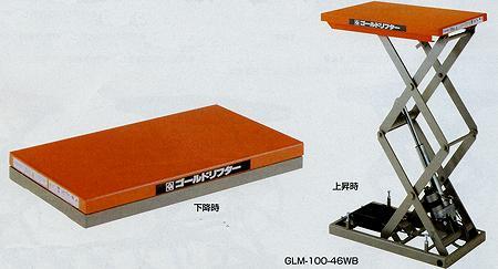 ドライシリンダー式(ブラシレスモーター) ミニタイプ 幅500×長さ650mm 均等耐荷重:100kg【GLM-100-56B】:エコノミーオフィス-オフィス家具
