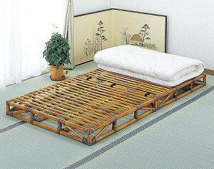 Bed籐すのこベッドシングルサイズ【I-Y-906】