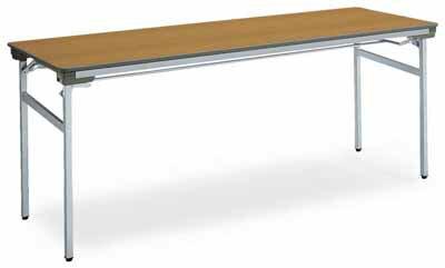 コクヨ 会議用テーブル KT-140シリーズ 脚折りたたみ式 会議用テーブル 棚付き 幅1800×奥行き600×高さ700mm【KT-S141N】:エコノミーオフィス-オフィス家具
