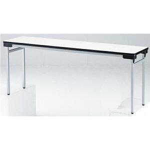 【軽量】折り畳みテーブル【棚無】ワイド脚タイプ【TFAW-1860N】