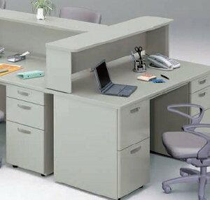 事務用デスクNES型テーブルパネル片面使い幅1096mm【NE11WP-WH】