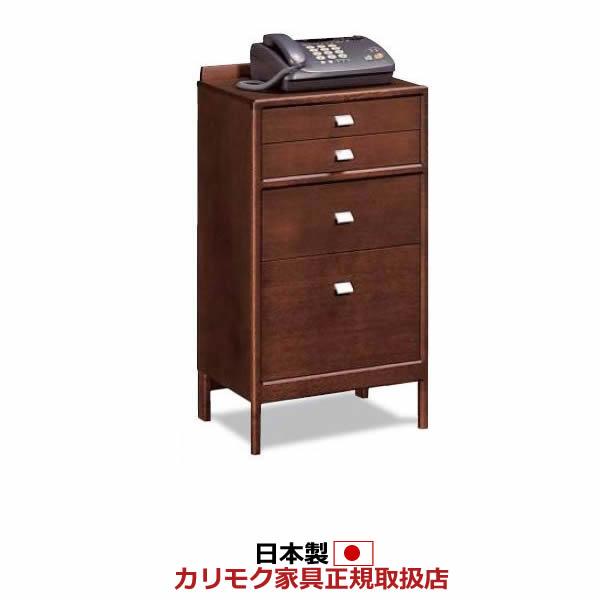 カリモク 電話台・ファックス台/玄関ボード ファックス台 幅460mm【AT1601】:エコノミーオフィス-オフィス家具