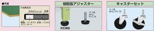 一人用作業台軽量移動式【PSR-075】