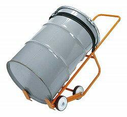 ドラム缶運搬車 幅1288×奥行き530×高さ837mm 均等耐荷重:300kg