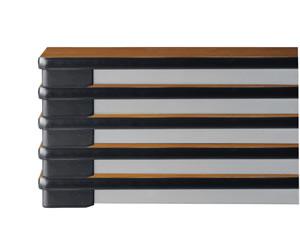 薄型ワイド折畳み会議テーブル(棚なし)【TO-1560SE】