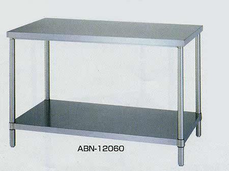 ステンレス作業台 ベタ棚 間口1800×奥行き600×高さ800mm 均等耐荷重:250kg【ABN-18060】:エコノミーオフィス-オフィス家具