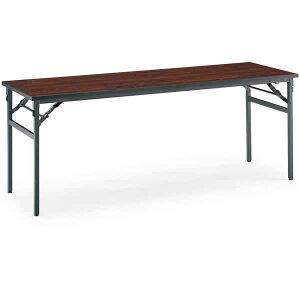 コクヨ会議用テーブルKT-N120シリーズ折りたたみ机棚なし幅1800×奥行き450mm【KT-N120】