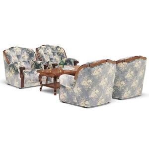 カリモクソファ/UP79モデル金華山張肘掛椅子【UP7970TQ】