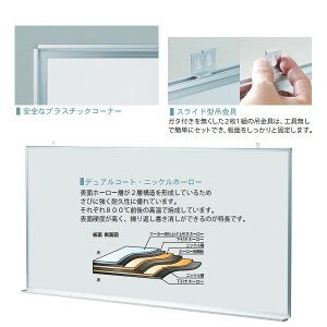 マジシリーズ壁掛月予定タテ型ヨコ書ボードホーロータイプ910×1210mm【MH34YU】
