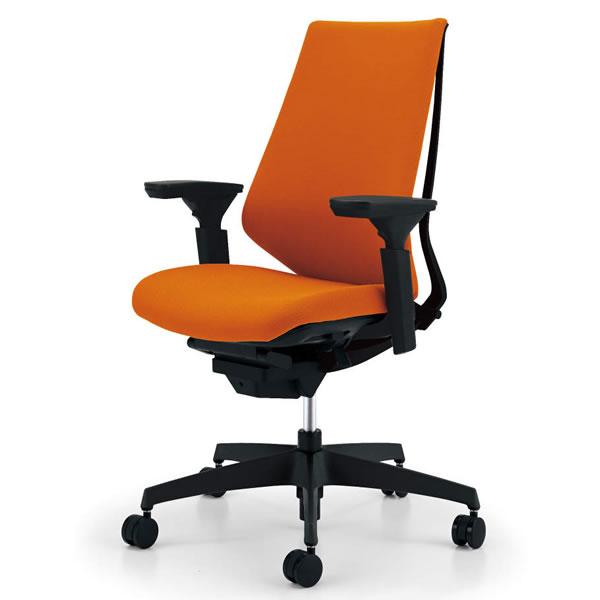 コクヨ デュオラ(Duora) クッションタイプ ハイバック・可動肘付き 樹脂脚(ブラック)【CR-G3111】:エコノミーオフィス-オフィス家具