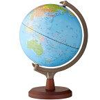 【ラッピング無料】【送料無料】 レイメイ藤井 行政タイプ地球儀(組み立て式) 球径25cm 行政タイプ 地球儀スケール付 OYV24
