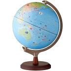 【ラッピング無料】【送料無料】 レイメイ藤井 国旗付地球儀(組み立て式) 球径30cm 行政タイプ 地球儀スケール付 OYV328