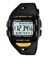 CASIO(カシオ)PHYS(フィズ)ForRunner<ランナーモデル>STW-1000-1JFブラック&イエロー国内正規品タフソーラー・電波時計「MULTIBAND6」搭載LAPMEMORY120