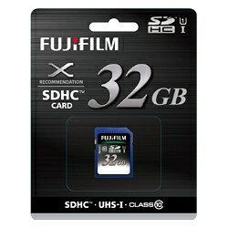 【送料無料】FUJIFILM<富士フイルム> 超高速転送 SDHCカード UHS-1(Clas…