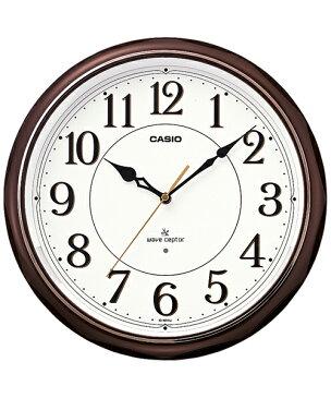 カシオ(CASIO) 壁掛け時計 濃茶 電波時計 IQ-1051NJ-5JF 【RCP】