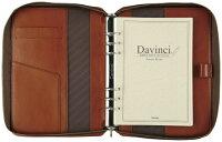 レイメイ藤井(Raymay)ダ・ヴィンチシステム手帳A5サイズブラウンDSA3001Cビジネススタンダードスーパーロイスレザーリング25mmラウンドファスナータイプ