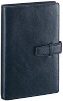レイメイ藤井(Raymay)ダ・ヴィンチシステム手帳聖書サイズ(バイブルサイズ)ネイビーDB3006Kビジネススタンダードスーパーロイスレザーリング15mm