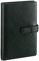 レイメイ藤井(Raymay)ダ・ヴィンチシステム手帳聖書サイズ(バイブルサイズ)ブラックDB3006Bビジネススタンダードスーパーロイスレザーリング15mm