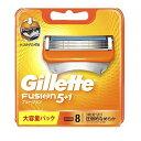 Gillette Fusion5+1ジレット フュージョン 替刃8個入 髭剃り カミソリ 替え刃(F)
