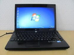 【中古】【Windows7Pro搭載】13.3ワイド液晶で画面も広々!CeleronT3000搭載でサクサク♪メモリたっぷり2G搭載!ハイスペックモバイルノートパソコン!hpProbook4310S『CD書込』『DVD書込』『DVD観賞』『リカバリ』『Windows7』『お買い得!通常品』