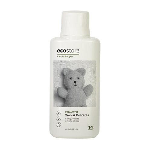 エコストア ecostore デリケート&ウールウォッシュ おしゃれ着用 500mL 洗たく用洗剤 中性洗剤 ナチュラル