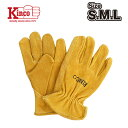 KINCOステッカープレゼント【Kinco Gloves / キンコ グローブ】 #50 COWHIDE DRIVERS GLOVE S/M/L【発送方法ネコポス】の商品画像
