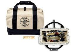 アメリカ製のキャンバスツールバッグ KLEIN TOOLS | マルチポケットバッグ 5003-18 | クライン...