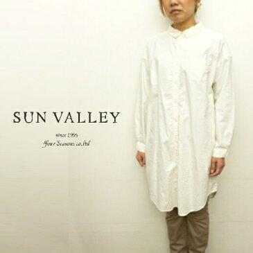【セール】サンバレー SUNVALLEY ワンピース シャツワンピース チュニック オックス オックスフォード 日本製品染め 2020年秋冬の新色入荷 CP