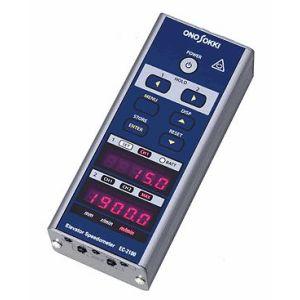 【納期-約3週間】小野測器[EC-2100]エレベータ速度計:測定器・工具のイーデンキ