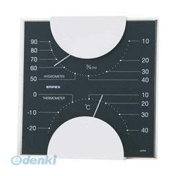 【ポイント2倍】【個数:1個】 直送 代引不可・同梱不可 MN-4812 EMPEX 温度・湿度計 MONO 温度・湿度計 ブラック