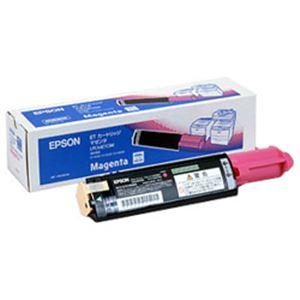 ※同梱「直送」【純正品】エプソン(EPSON)トナーカートリッジマゼンタ型番:LPCA4ETC5M印字枚数:4000枚単位:1個