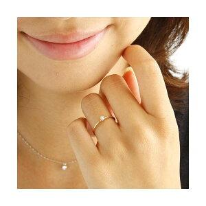 ※同梱「直送」K18ダイヤリング指輪シューリングホワイトゴールド9号