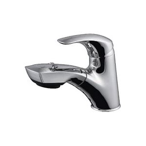 ※同梱「直送」ジェイトップ・ユーコーCREMONAシングルレバー引出し混合水栓Y184-002