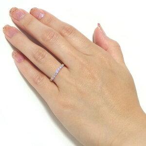 ※同梱「直送」【鑑別書付】K18イエローゴールド天然ダイヤリング指輪ダイヤ0.50ct9.5号ハーフエタニティリング