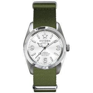 ※同梱「直送」OXYGEN(オキシゲン)腕時計Sport38(スポーツ38)Paris(パリ)シルバー