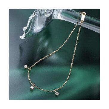直送・代引不可 K10ピンクゴールド0.15ct トリプルダイヤモンドブレスレット 別商品の同時注文不可