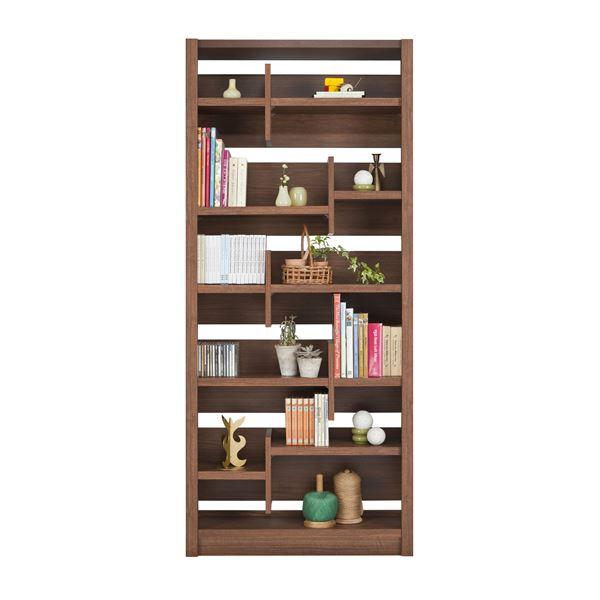 直送・代引不可ユーアイ NEO RAIDER(レイダー) 書棚85 飾り棚 ライトブラウン L-850H LBR【代引不可】別商品の同時注文不可:測定器・工具のイーデンキ
