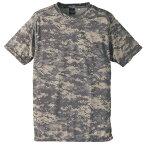 直送・代引不可自衛隊海外派遣使用・立体裁断・吸汗速乾さらさらドライ 迷彩 Tシャツ ACU L別商品の同時注文不可