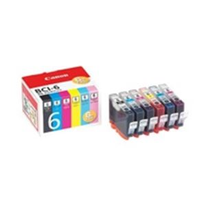 ※同梱「直送」(業務用5セット)Canonキヤノンインクカートリッジ純正【BCI-6/6MP】6色パック